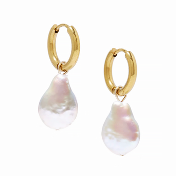 The Bold Pearl Sleeper earring