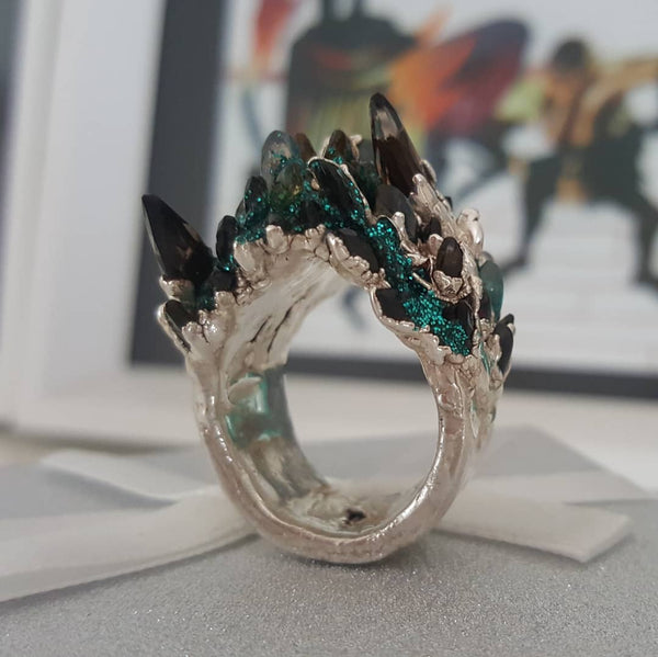 Spiky Fire Ring
