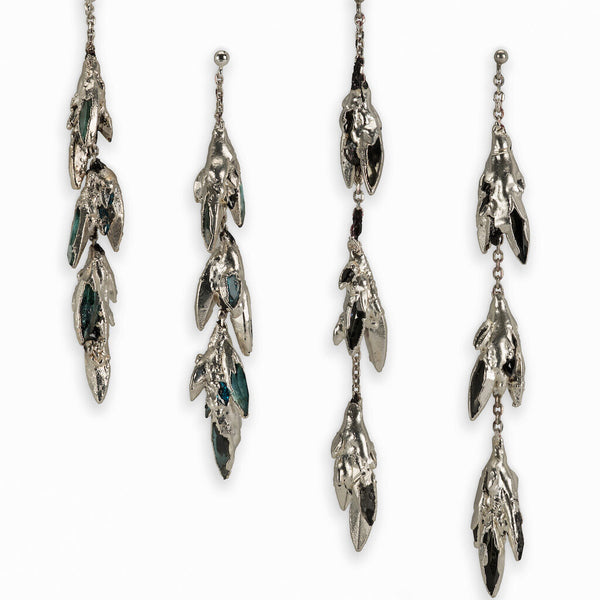 Spiky Dangle Earrings
