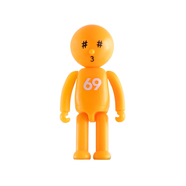 SLOO mini figure Karma with 69 and hashtag eyes