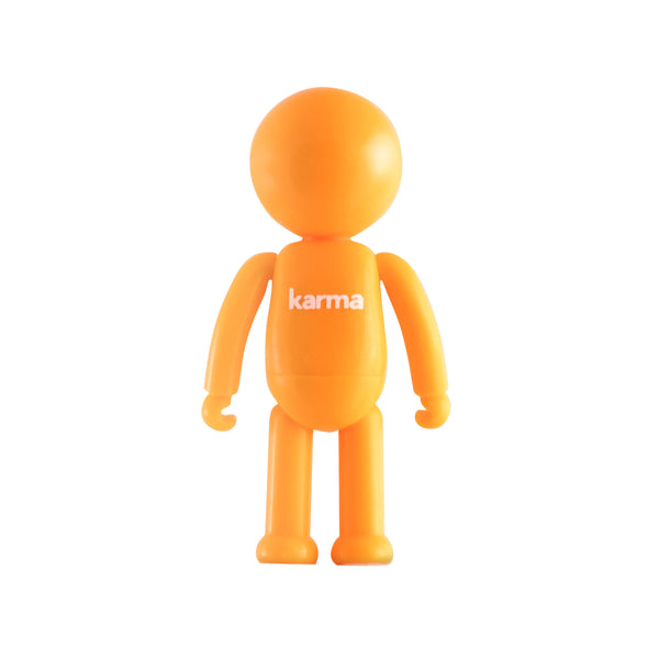 SLOO mini figure Karma with back writing