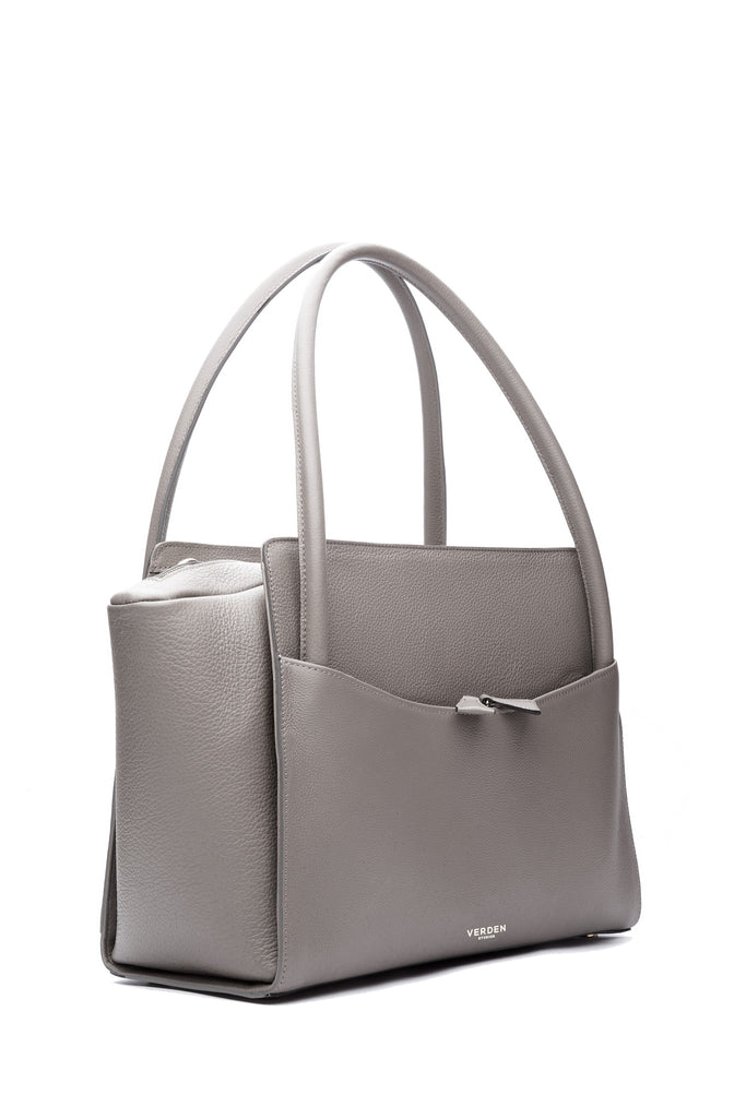 Sleek and functional workbag / business bag - VERDEN STUDIOS - The Moskenes in stone taupe