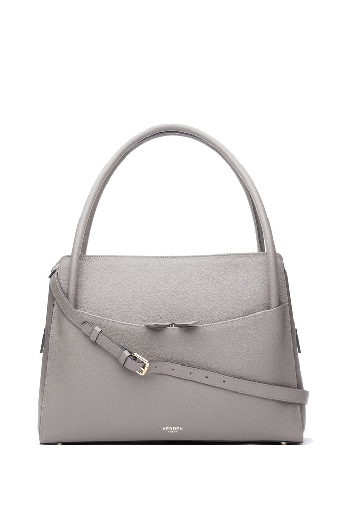 Sleek and functional workbag / business bag - VERDEN STUDIOS - The Skye in stone taupe