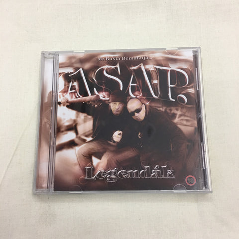ASAP - Legendák LP