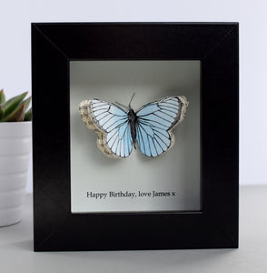 Birthday Gifts - Personalised Paper Butterfly Box - Made In Words