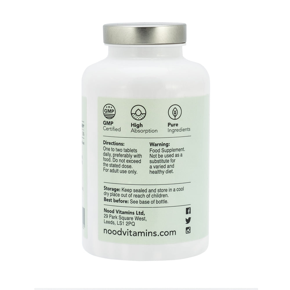 Magnesium Citrate, 200mg, 180 Vegetarian Tablets