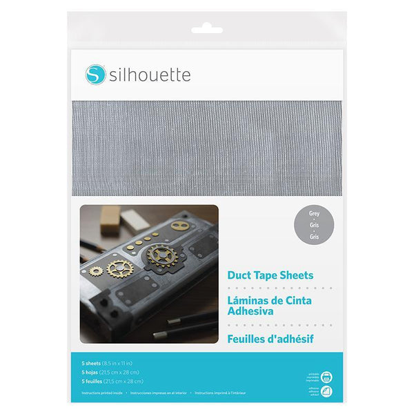 Silhouette America - Duct Tape Sheets - Grey