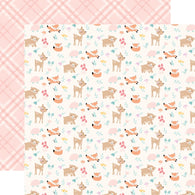 Echo Park - Hello Baby Girl Collection - Woodland Friends