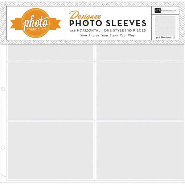 "Echo Park - Photo Pocket Pages - 4x6"" Horizontal  (10pack)"