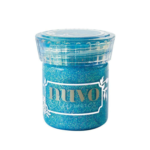Nuvo - Glimmer Paste - Blue Topaz 50ml