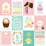 Echo Pack - Easter Wishes Collection - 3x4 Journaling Cards