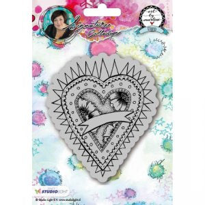 Art By Marlene: Hearts Stamp no. 23