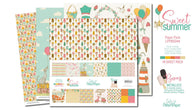 Lady Pattern Paper - Sweet Summer Collection Kit