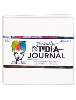 Ranger - Dina Wakley Media Journal  - White