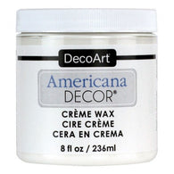 DecoArt - Creme Wax - White 236ml