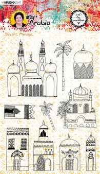 Art by Marlene - Stamp - Artsy Arabia no.58