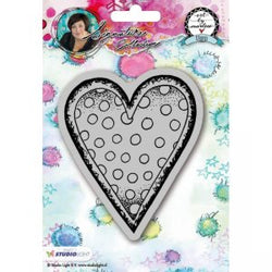 Art by Marlene: Hearts Stamp no. 22