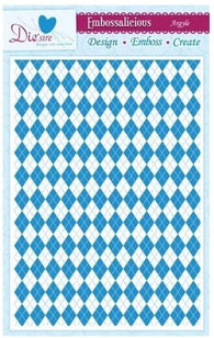 Die'sire - Embossing Folder - Argyle