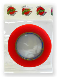 Tape Wormz - Red Double Sided High Tack Tape- 12mm x 25m