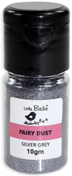 Little Birdie - Fairy Dust - Silver Grey