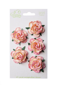 Bloom - Flowers - Wild Roses - Champagne Pink (5pc)