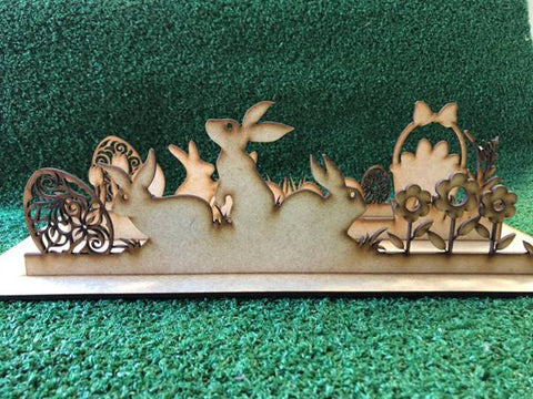 Easter Scene DIY Set – Wooden 3mm MDF