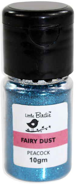 Little Birdie - Fairy Dust - Peacock