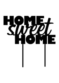 Cake Topper - Home Sweet Home