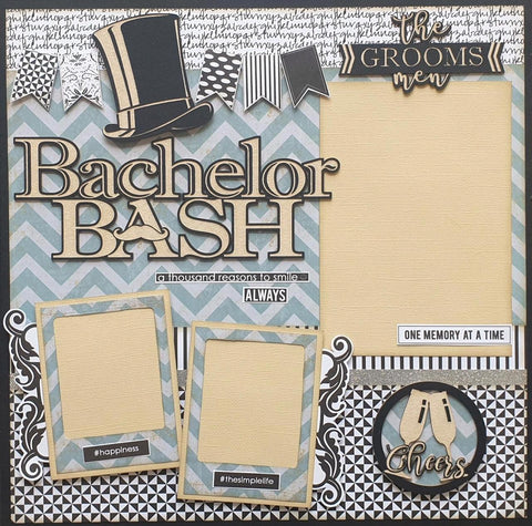 Bachelor Bash Single Layout Kit