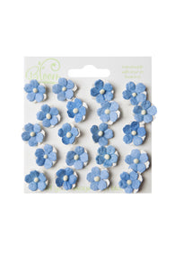 Bloom - Flowers - Sweetheart Blossoms - Light Blue (20pc)