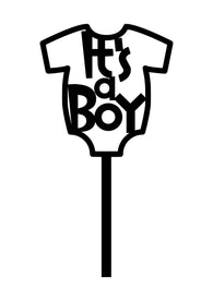 Cake Topper - It's a Boy Onesie