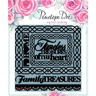Penelope Dee - Charlotte Collection Chipboard - Family Treasures (12,5cm)