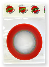 Tape Wormz - Red Double Sided High Tack Tape - 6mm x 25m