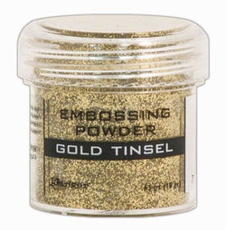Embossing Powder - Gold Tinsel 18g