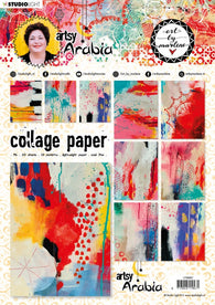 Art by Marlene - Collage Paper - Artsy Arabia 21cm x 29,7cm no.07