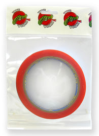 Tape Wormz - Red Double Sided High Tack Tape - 6mm x 10m