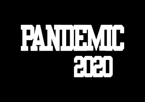 Chipboard - Pandemic 2020 - Broad (15cmx4cm)