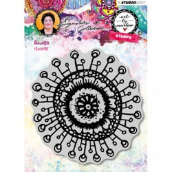 Art by Marlene: Doodle Flower Stamp no. 31