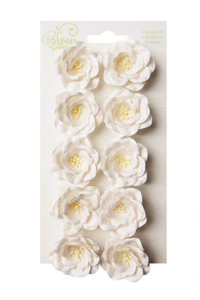 Bloom - Flowers - Magnolias - White (10pc)