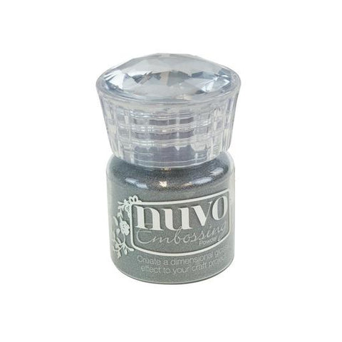 Nuvo - Embossing Powder - Classic Silver 22ml