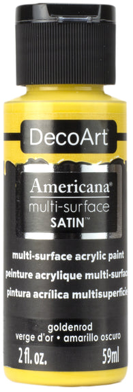 DecoArt - Americana Multi-surface Acrylic - Goldenrod 59ml