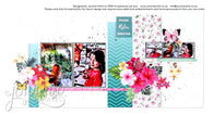 Sunkissed Double Page Layout