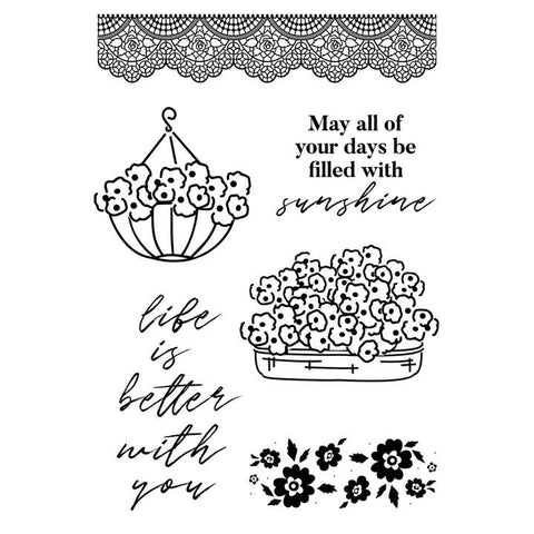 Kaisercraft - Flower Shoppe Collection - Stamp