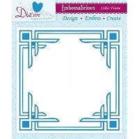 Die'sire - Embossing Folder - Celtic Frame