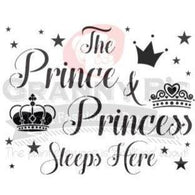 GB's - Stencil - Prince & Princess
