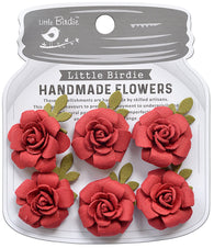 Little Birdie - Poppies and Roses Flowers - Amica
