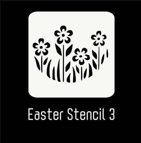 Easter Stencil 3 - Flowers