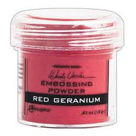 Ranger - Wendy Vecchi Embossing Powder - Red Geranium 18g