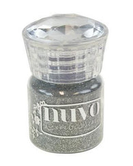 Nuvo - Glitter Embossing Powder - Silver Moonlite 22ml