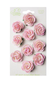 Bloom - Flowers - Chelsea Roses - Baby Pink and Ivory (10pc)